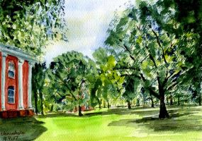 New Haven Green by cchan55