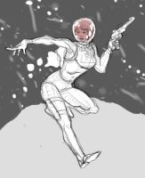Space Babe by Bleagh
