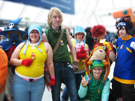 MayMCMExpo2010: Digimon Group by MammaCarnage