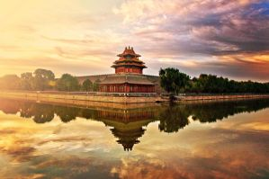 The Forbidden City bathed in morning light by sunny2011bj