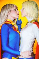 DC Comics SuperGirl PowerGirl by ShashinKaihi