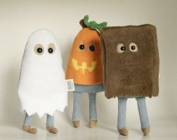 Trick or Treating Halloween Costume Plush Friends by Saint-Angel