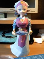 Young Zelda OOT Papercraft by Orel67