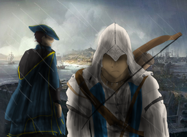 Assassins Creed 3 Like father like son by ShadowClawZ