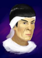 Spock from The Voyage Home by grandpaulrira