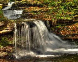 Ricketts Glen State Park 35 by Dracoart-Stock