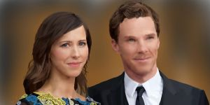 Benedict Cumberbatch + Sophie Hunter Digital Art by rebeccaholmes