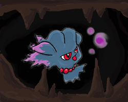 Misdreavus - ghost pokemon contest entry by Ritalabella