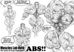 Muscle lab VOL4 : Abs cover by e19700