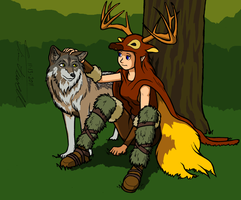 Tam and Timber by Timothius