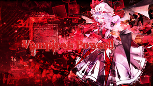 [Wallpaper]Vampire's Power by KiiitXD