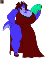 Muddness gift art_ Fully colored an in progress by wsache2020