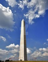 George Washingtons Monument by Digibug