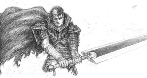 Guts - Berserk by RomaniacC