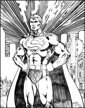 The Iconic Superman by Nightray2002