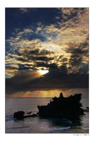 A Day At Tanah Lot by indonesia
