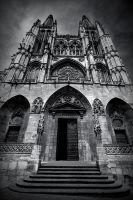 Burgos Cathedral by Eloren