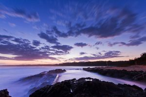 Southies Rockpool Sunset by PartiallyGelatinated