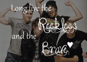 All time low Reckless and brave by maraaax3