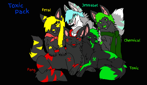 Toxic Pack by swiftkill0907