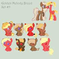 Golden Melody Breed #5 CLOSED by REDandYELLOWZ
