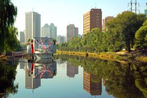 Reflected Beijing by SniperOfSiberia