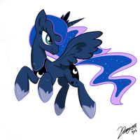 Princess Luna by Doggie999