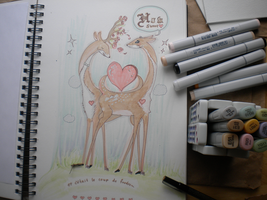 New copic markers by souriez
