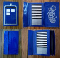 Deluxe TARDIS Duct Tape Wallet by AreusBookworm
