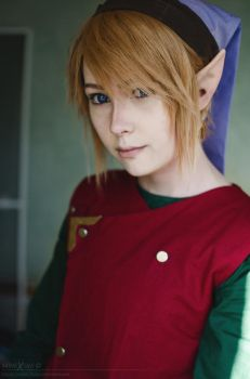 LoZ: A Link to the Past - Link by Mimixum