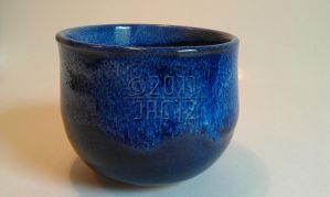 Sapphire-Satin White Cup by jac12