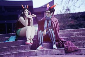 homestuck: feferi and eridan by FrauDoku