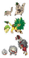 Fakemon Project by NefariousSandshrew