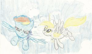 Cloudsdale and Pegasi by Lmeddy247