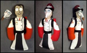 Custom Pocket Medic with Corner Beak and Captain by Threnodi