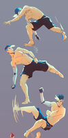 Shiro Tricking Practice by SolKorra