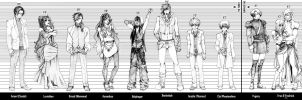 Sins of the Family - Height Chart by Namida3970