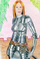 Aribeth in  Full Plate Armour by Attalus