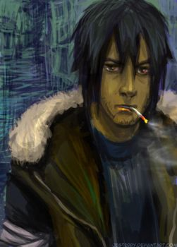 Asuma - Broken youth by jesterry