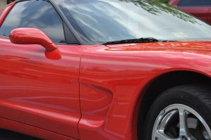 Red Corvette 3 by IBelongToTheDoctor