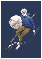 ROTG: Jack Frost and the Moon by moaniez