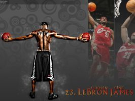 LeBron James by bhazler