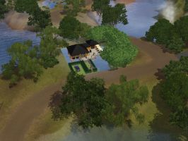 My house in sims 3 by Mordecai1997