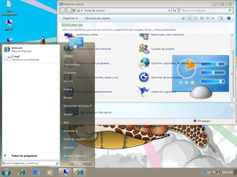 Windows 7-XP Desktop by ERMaCDR
