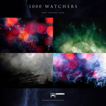 1000 Watchers Pack by Infrablack-stock