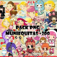 Pack PNG Muniequitas! by MagicsEditions