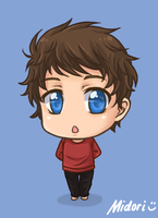 OC Daniel Chibi (Commission) by mmidori31
