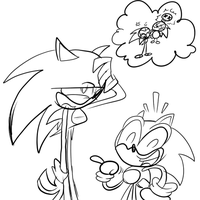 Sonic Gen. Sketch by MikeSouthmoor