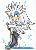 Glint the Hedgehog by chaixing