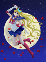 Sailor Moon by Dolly-wrath